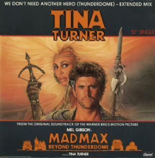 "Tina Turner - We Don't Need Another Hero (Thunderdome) (12"") (VG/VG)"